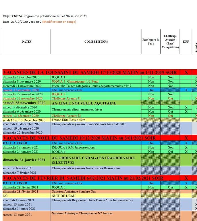 Coupe Davis 2021 Calendrier Calendrier avent: Calendrier Cnds 2021